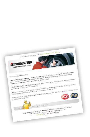 E-mail Bridgestone